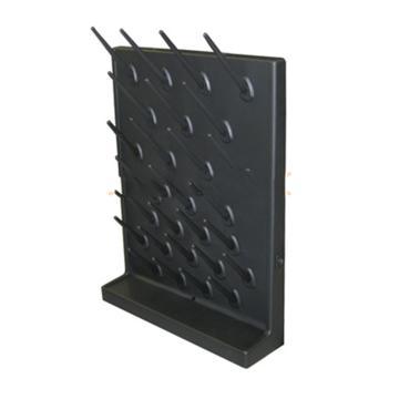 台雄滴水架,SAN-8101B,PP单面,27根滴水棒,黒色