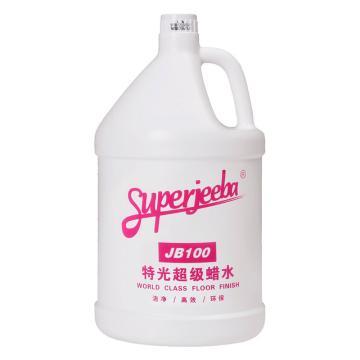 白云特光蠟水,JB-100,4加侖/箱,單位:箱