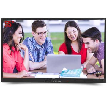 中银(BOCT) 电视,电脑大屏显示器电子白板,FT55 55英寸壁挂多媒体教学会议触摸一体机触摸屏
