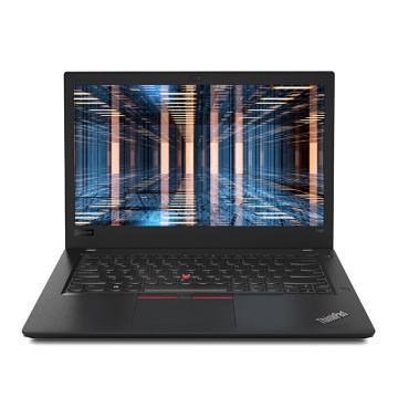 联想 笔记本电脑,ThinkPad T480(0QCD)(i7-8550U 8G 512GSSD ) 带包有线鼠