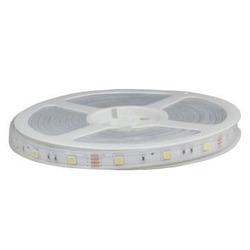 LED灯带12V 5050贴片 低压安全灯 带 14W每米 带套管 黄光 整卷 5米1卷,单位:卷