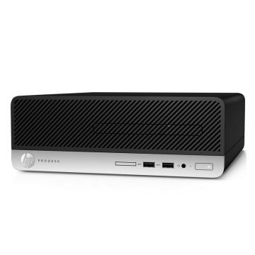 惠普(HP)电脑,ProDesk 400 G5 SFF/New Core i5-8500(3.0G/9M/6核)/4G(DDR4 2666)