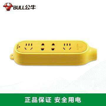 公牛BULL 接线板,工程系列摔不烂(新国标),GN-C5 无线