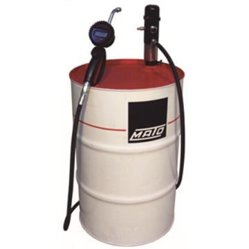 MATO 3404024 1:1可移动气动油泵组套,带数显机油枪,4m油管,适用200L油桶