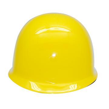 安全帽,GY-A2-黄(同一系列30顶起订),头盔式ABS安全帽 黄色