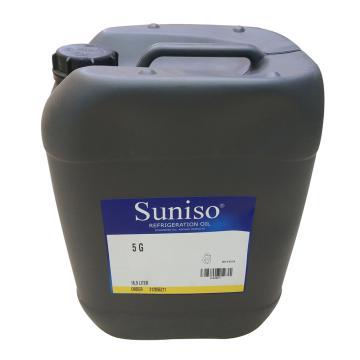 Suniso 冷冻油,5G,18.9L/桶(原包装20L/桶),塑料桶,比利时进口