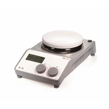 大龙 磁力搅拌器,数显加热型,搅拌量:20L,加热温度范围:室温-340℃,不锈钢陶瓷涂层盘面,MS-H-PRO
