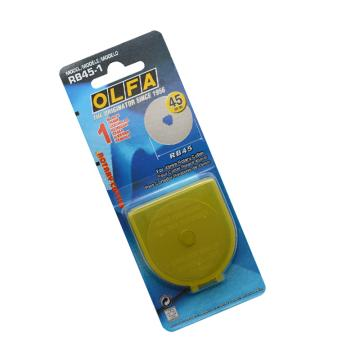 OLFA 旋转刀片,1片装,RB45-1
