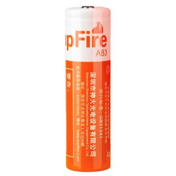 神火 18650锂电池 3.7V 2300mAh 橙色