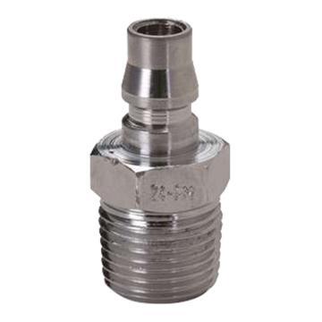 "JPE 外螺纹插头,外牙PT1/4"",碳钢,AFE-22PM-R"