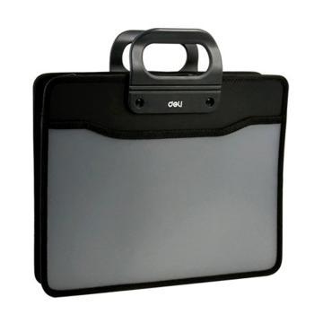 得力 织布手提包,黑色5579 单位:只