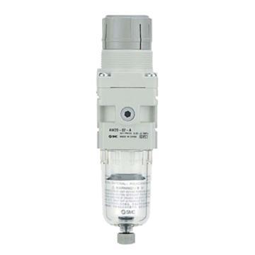 SMC 过滤调压阀,无压力表,AW60-10D-B