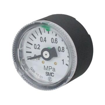 "SMC 压力表,G46-10-02,1/4"",调压范围0-1.0Mpa"