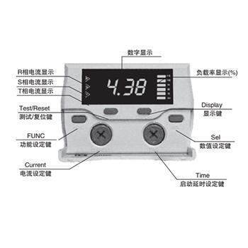 眾杰 低壓電機保護器,NHJ-F60-T