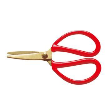 桥防 防爆剪刀,铍青铜, 150mm,242-1002BE