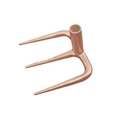 桥防 防爆三齿,铝青铜,185mm,275-1002BE