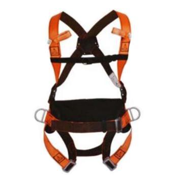 代尔塔DELTAPLUS 带护腰全身式安全带,501014,HAR14全身式两挂点