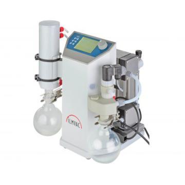 实验室真空系统,威伊,LVS 210 T,抽吸速度:30L/min,极限压力:<2mbar,带自动流量控制器