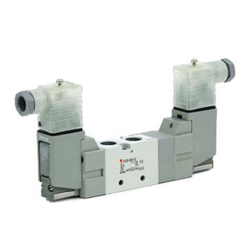 "SMC 電磁閥,二位五通雙電控,Rc3/8"",DC24V,VF5220-5DZ1-03"