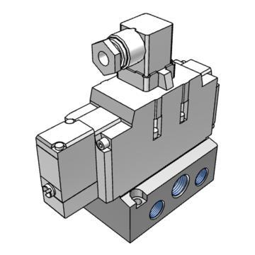 SMC 5通先导式电磁阀,VFS4110-4DB-04
