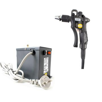 快克QUICK445D离子吹尘枪+QUICK446高压电源供应器