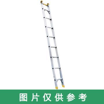宝富 铝合金单侧梯,全长:2.0m 自重:5.2kg,RLAS-20