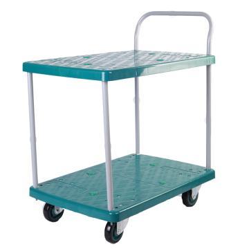 连卡德 环保型多功能平板手推车,双层,,载重(kg):150