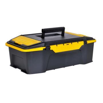 """史丹利 雙向開塑料工具箱,20"""",STST19950-8-23,工具箱 收納工具盒 車載工具箱 多功能收納箱"""