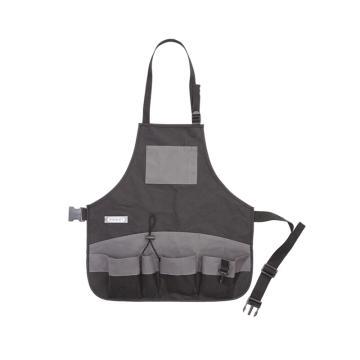 史丹利 工具围裙,520X550mm,95-269-23,多功能工具袋 尼龙工作衣工作服 五金工具尼龙围布插袋