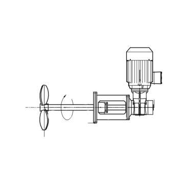 侧入式搅拌器TXL-LAF配套电机+减速机,7.5kw 220rpm,EHSY-JBQ-01