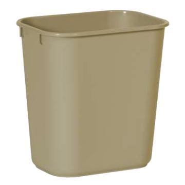 乐柏美中型垃圾桶,米色,26.6L 295600米色