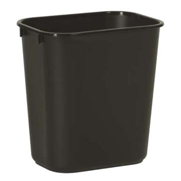 乐柏美小型垃圾桶,12.9L 黑色  FG295500BLA