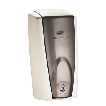 樂柏美RubbermaidAutoFoam自動感應式泡沫給皂機,白色/灰珍珠色 FG750140