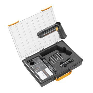 魏德米勒充电螺丝刀套装,2.4V、2.5Nm、电池*2、充电器*1,DMS 3 Set 2 ZERT(9017420000)