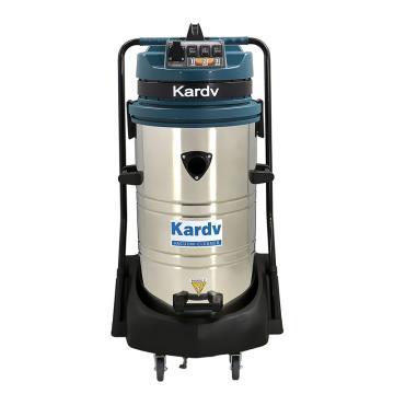 凯德威 不锈钢吸尘器,GS-3078S 3600W 80L 220V