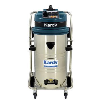 凯德威 不锈钢吸尘器,GS-3078B 3600W 80L