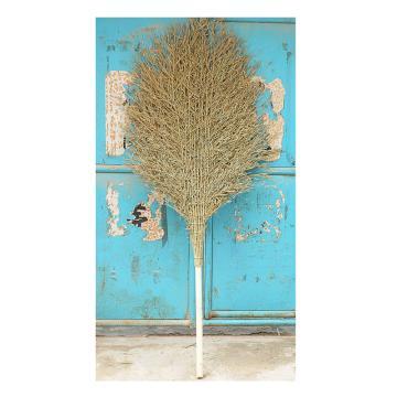 大竹掃把,木柄 帶葉子 約2.2M長 80CM寬