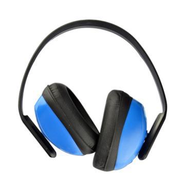 代尔塔DELTAPLUS 头戴式耳罩,103010,SPA3 F1雪邦 蓝黑