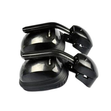 代尔塔DELTAPLUS 挂帽式耳罩,103008,SUZUKA2 F1铃鹿 黑色