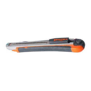 美工刀,9MM高级快换刀片型,(含2片备用刀片),S067004