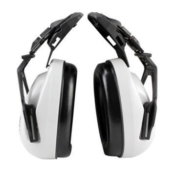 梅思安MSA 挂帽式耳罩,SOR10012,EXC卓越型 白色