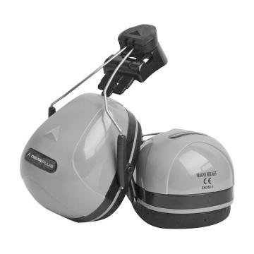 代尔塔DELTAPLUS 挂帽式耳罩,103014,MAGNY F1马尼库尔 灰色