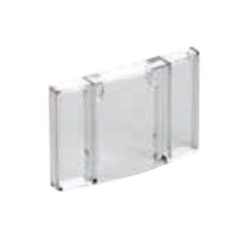 德力西CJX2s交流线圈接触器附件,PC38透明防尘盖适用CJX2s-6-38A,PC38