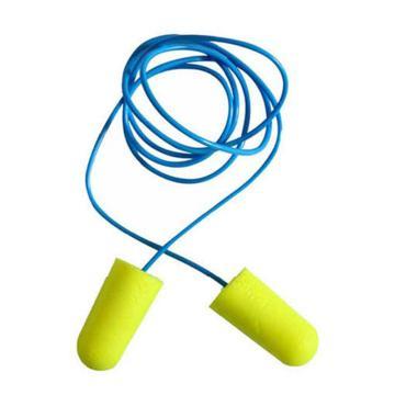 3M 一次性耳塞,311-1250,Earsoft 高降噪子彈型PU發泡材質 帶線,200副/盒