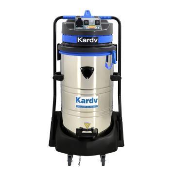 凯德威 不锈钢吸尘器,DL-2078S 2400W 80L