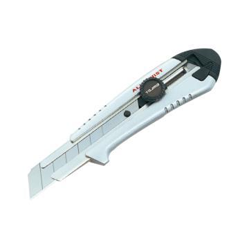 田岛美工刀,H型刃旋钮锁定铝合金型 AC701B