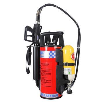 海安特 细水雾灭火枪,3L气瓶 12L储水桶