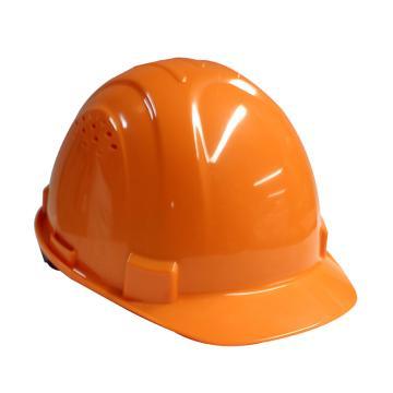 Honeywell H99S安全帽,ABS带透气孔,橙色