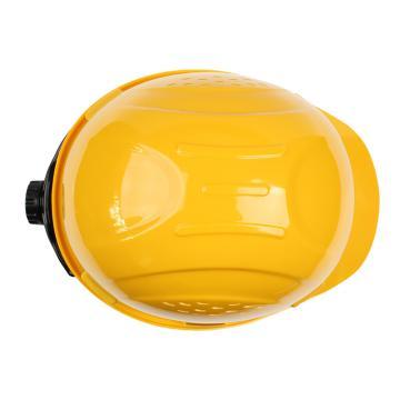 霍尼韦尔Honeywell 安全帽,H99RA102S,ABS带透气孔 黄色