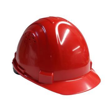 Honeywell H99S安全帽,ABS带透气孔,红色